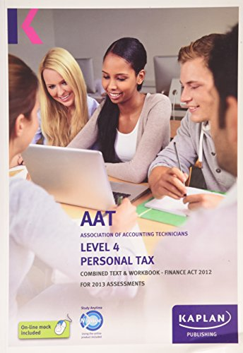 9780857326096: Personal Tax (FA) - Combined Text and Workbook 2012