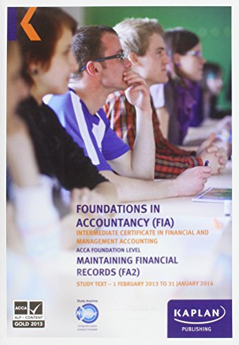 9780857327253: FA2 Maintaining Financial Records - Study Text