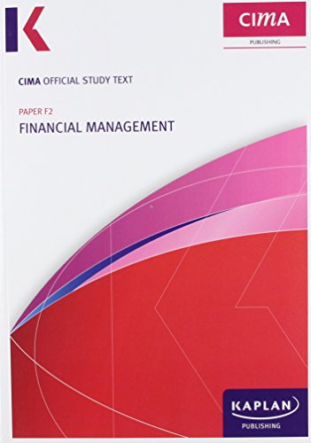 9780857329790: F2 Financial Management - Study Text (Cima Study Text)