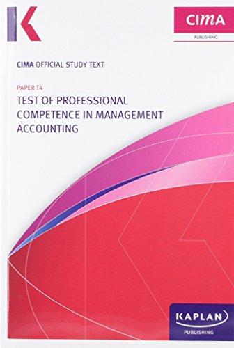 Cima T4 Skills Development Text (Cima Study Text): Cima