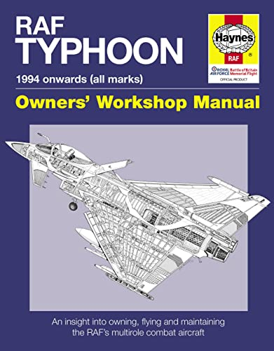 9780857330758: RAF Typhoon: 1994 onward (all marks) (Owners' Workshop Manual)