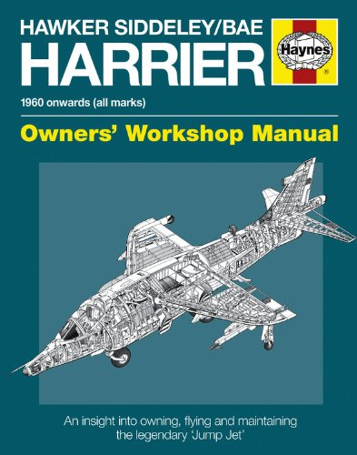 9780857330796: Hawker Siddeley/BAe Harrier Manual: 1960 Onwards (All Marks) (Owners' Workshop Manual)