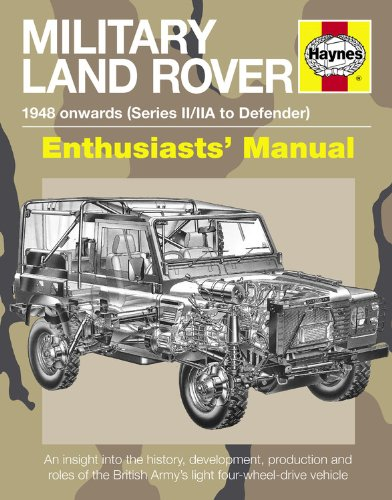 9780857330802: Military Land Rover: 1948 Onwards (Series II/IIA to Defender) (Enthusiasts' Manual)