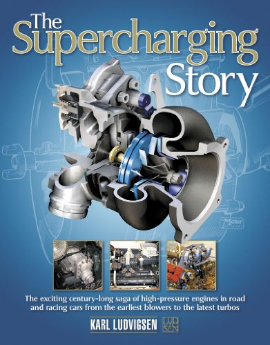 9780857330925: The Supercharging Story: The Exciting Century-Long Saga of High-Pressure Engines in Road and Racing Cars from the Earliest Blowers to the Lates
