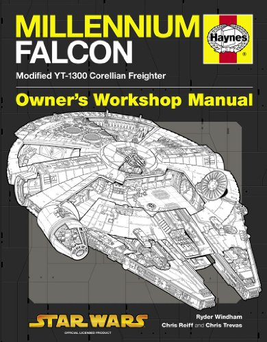 9780857330963: Millennium Falcon Manual. Ryder Windham