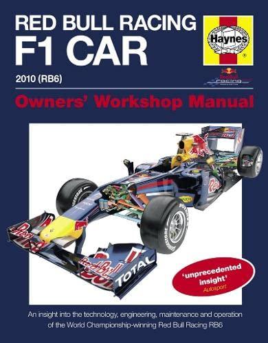 Red Bull Formula 1 Car Manual: An: Steve Rendle