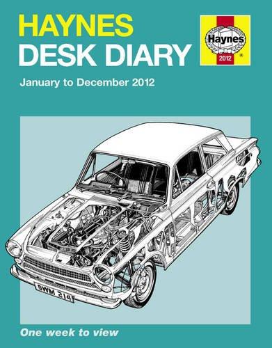 9780857331106: Haynes Desk Diary 2012
