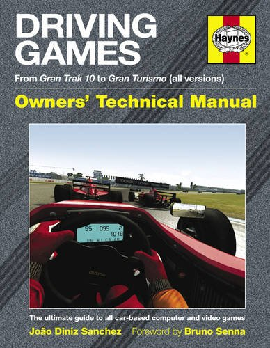 9780857331335: Driving Games Manual: The Ultimate Guide to All Car-Based Computer and Video Games. Joo Diniz Sanches