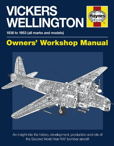 9780857332301: Vickers Wellington Manual: An Insight into the History, Development, Production and Role of the Second World War RAF Bomber Aircraft (Owners Workshop Manual)
