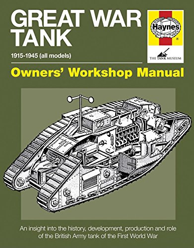 9780857332424: Great War Tank Mark IV (Owners Workshop Manual)