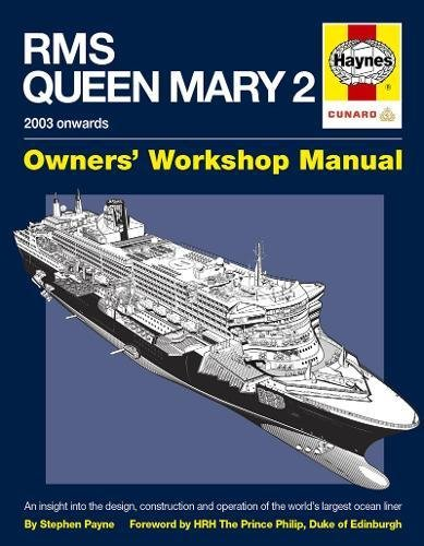 9780857332448: RMS Queen Mary 2 Manual: An Insight into the Design, Construction and Operation of the World's Largest Ocean Liner (Owners Workshop Manual)