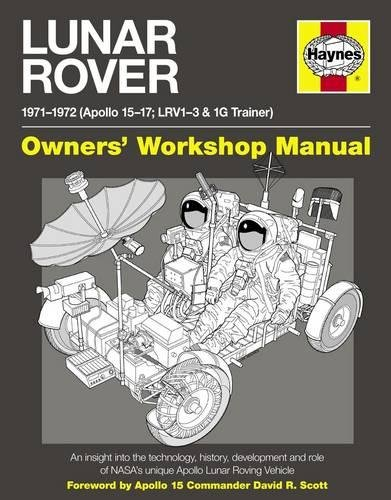 9780857332677: Lunar Rover Manual: 1971-1972 (Apollo 15-17; LRV1-3 & 1G Trainer)