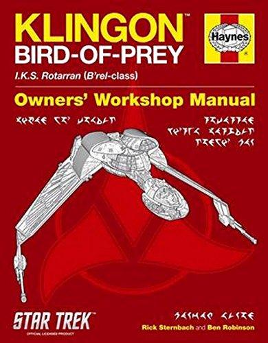 9780857332769: Klingon Bird of Prey Manual: IKS Rotarran (B'rel-class)