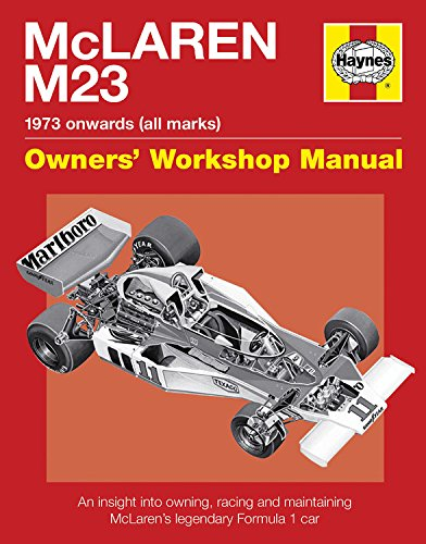 9780857333124: McLaren M23: 1973 Onwards (All Marks) (Owners Workshop Manual)