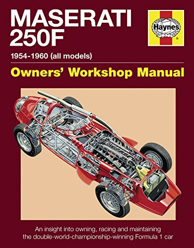 9780857333131: Maserati 250F Manual: An Insight into Owning, Racing and Maintaining the Double-world-championship-winning Formula 1 Car (Haynes Owners Workshop Manuals (Hardcover))