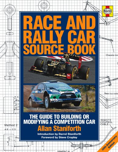 9780857333483: Race and Rally Car Source Book - 30th Anniversary Edition: The Guide to Building or Modifying a Competition Car