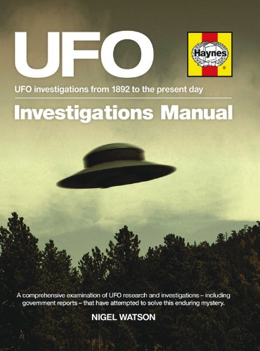9780857334008: UFO Investigations Manual: UFO Investigations from 1892 to the Present Day (Haynes Manual)
