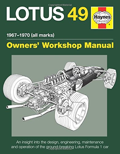 9780857334121: Haynes Lotus 49 1967-1970 (All Marks) Owners' Workshop Manual: An Insight into the Design, Engineering, Maintenance and Operation of the Ground-Breaking Lotus Formula 1 Car