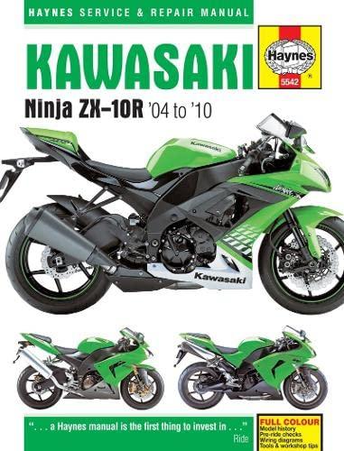 9780857335425: Kawasaki ZX-10R Service and Repair Manual: 2004-2010 (Haynes Service and Repair Manuals)