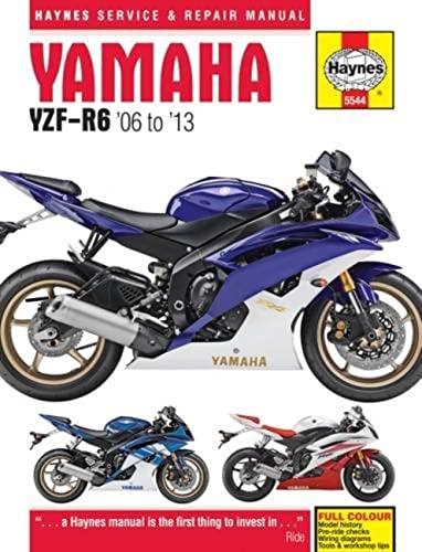 9780857335449: Yamaha YZF-R6 Service and Repair Manual: 2006-2012 (Haynes Service and Repair Manuals)
