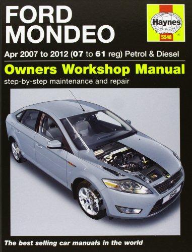 9780857335487: Ford Mondeo Petrol & Diesel Service and Repair Manual: 2007-2012 (Haynes Service and Repair Manuals)