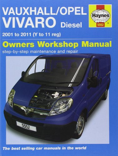 9780857335524: Vauxhall/Opel Vivaro Diesel (Haynes Service and Repair Manuals)
