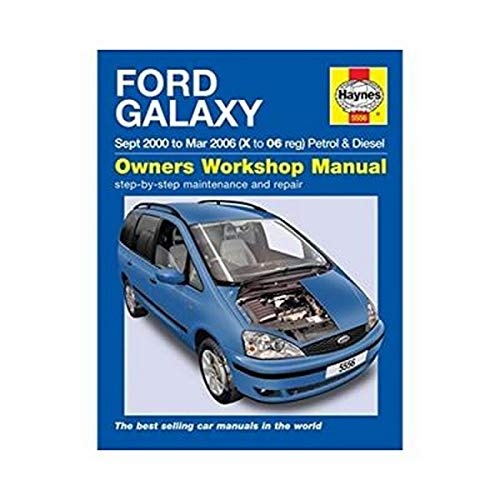 9780857335562: Ford Galaxy (00-06) X to 06. (Haynes Service and Repair Manuals)