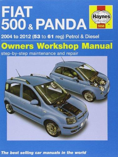 9780857335586: Fiat 500 & Panda Petrol & Diesel Service and Repair Manual