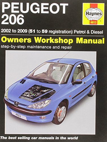9780857335593: Peugeot 206 Petrol and Diesel Service and Repair Manual: 2002 to 2009 (Haynes Service and Repair Manual)