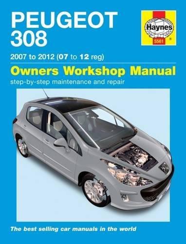 9780857335616: Peugeot 308 Service and Repair Manual: 07-12 (Haynes Service and Repair Manuals)