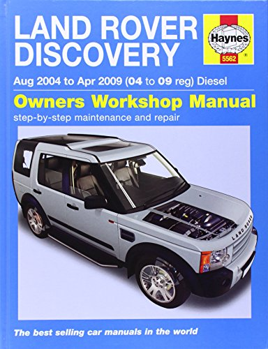 9780857335623: Land Rover Discovery Diesel Service and Repair Manual: 04-09 (Haynes Service and Repair Manuals)