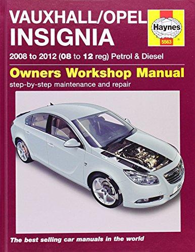 9780857335630: Vauxhall/Opel Insignia Petrol & Diesel Service and Repair Ma