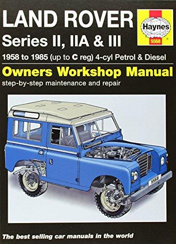 9780857335685: Land Rover Series II, IIA & III Service and Repair Manual: 1958-1985 (Haynes Service and Repair Manuals)