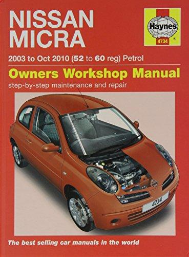 9780857335708: Nissan Micra Service and Repair Manual (Haynes Service and Repair Manuals)