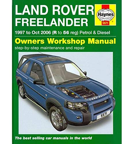 9780857335715: Land Rover Freelander Service and Repair Manual (Haynes Service and Repair Manuals)