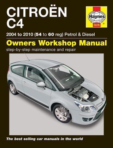 9780857335760: Citroen C4 Service Repair Manual (Haynes Service and Repair Manuals)
