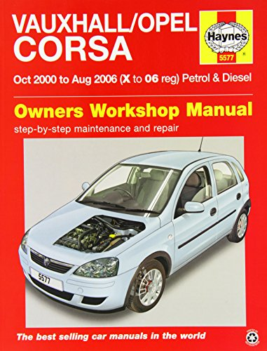 9780857335777: Vauxhall/Opel Corsa Service and Repair Manual: 2000-2006 (Haynes Service and Repair Manuals)