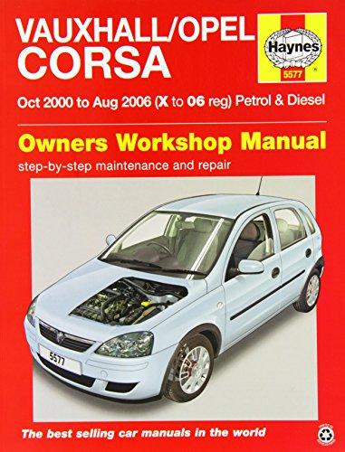 9780857335777: Vauxhall/Opel Corsa Service and Repair Manual: 2000-2006 (Haynes Service and Repair Manuals)