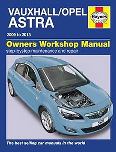 9780857335784: Vauxhall/Opel Astra (Dec 09 - 13) Haynes Repair Manual
