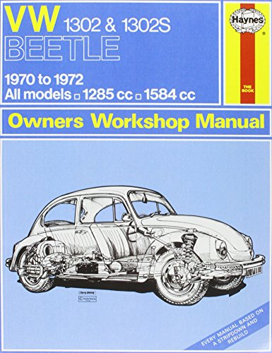 9780857335807: VW 1302S Super Beetle Owners Workshop Manual (Haynes Service and Repair Manuals)