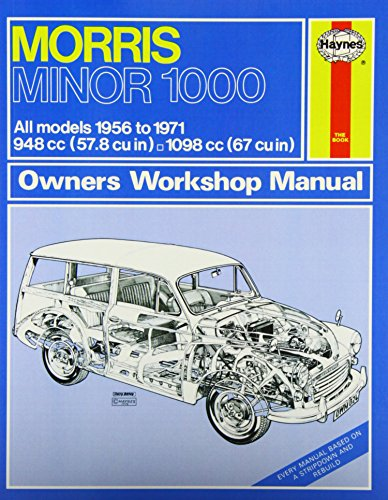 Morris Minor 1000 Owner's Workshop Manual (Haynes Service and Repair Manuals): Haynes, J. H.