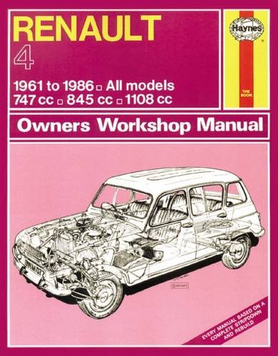 9780857335937: Renault 4 Owners Workshop Manual: 61-86 (Haynes Service and Repair Manuals)