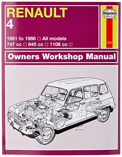 9780857335937: Renault 4 Owners Workshop Manual