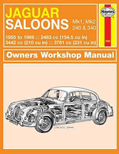 9780857335944: Jaguar Mk I & II, 240 & 340 Owners Workshop Manual: 55-69 (Haynes Service and Repair Manuals)