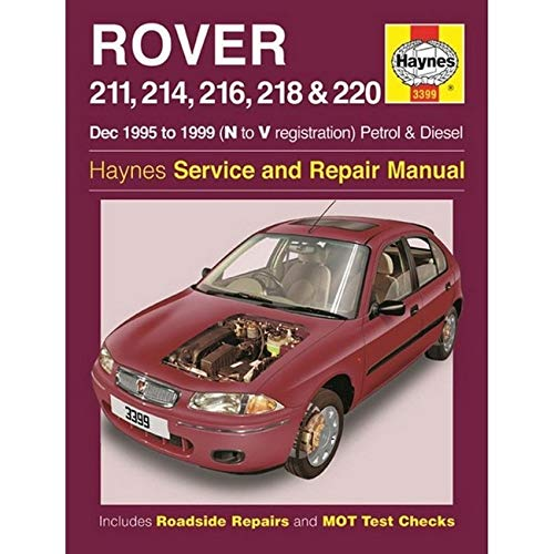 Rover 211, 214, 216, 218 & 220 Petrol & Diesel Owners Workshop Manual