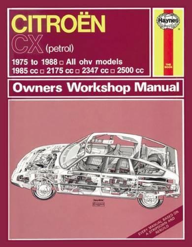 9780857336040: Citroen CX Owners Workshop Manual
