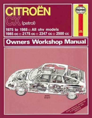 Citroen CX Owners Workshop Manual: NA