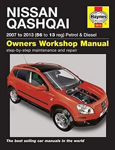 9780857336101: Nissan Qashqai Petrol & Diesel Service and Repair Manual: 2007-2013 (Haynes Service and Repair Manuals)