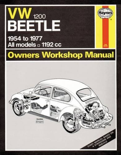 9780857336163: VW Beetle 1200 Owner's Workshop Manual