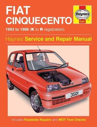 9780857336187: Fiat Cinquecento Owner's Workshop Manual (Haynes Service and Repair Manuals)
